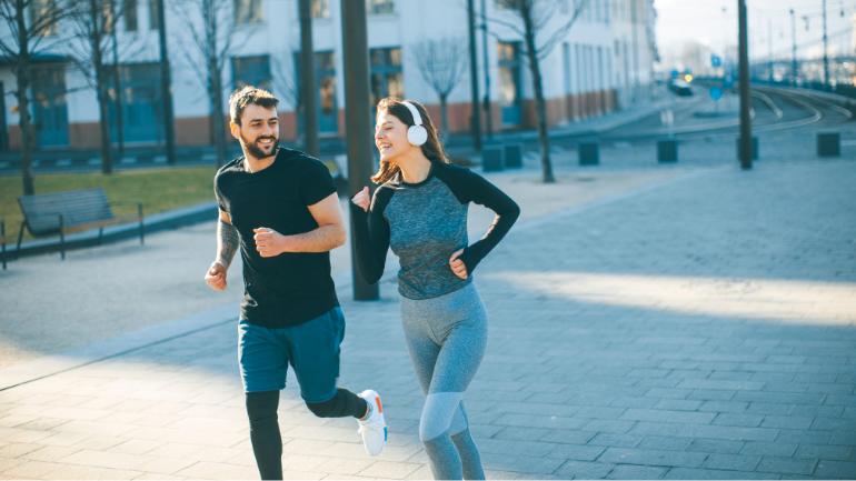 Novos hábitos saudáveis. Um exemplo é a corrida.